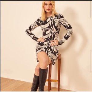 NWT Reformation Kenmare Mini Dress Persephone sz M